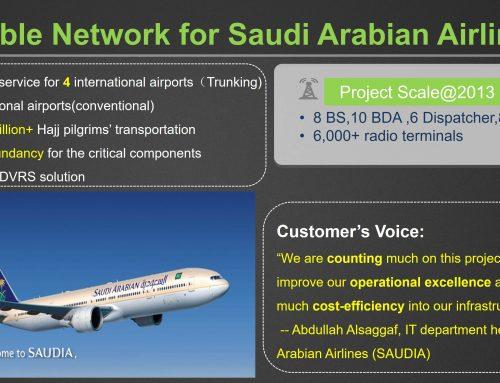 Hytera  -Deploy DMR Across Saudi Arabian Airlines